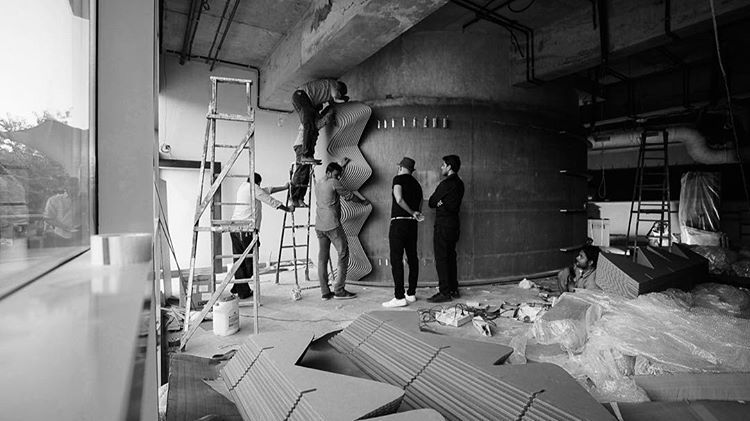 Building the Cardboard Café