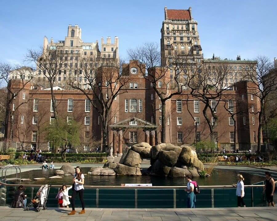 Arsenal Historic Building, Central Park, New York City