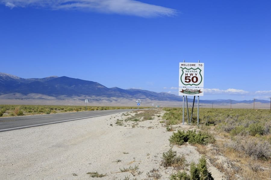 US 50 in Nevada: The Loneliest Road in America