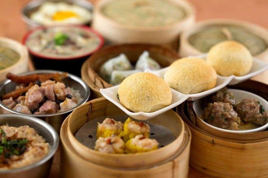 Dim Sum at Tim Ho Wan, Hong Kong, China