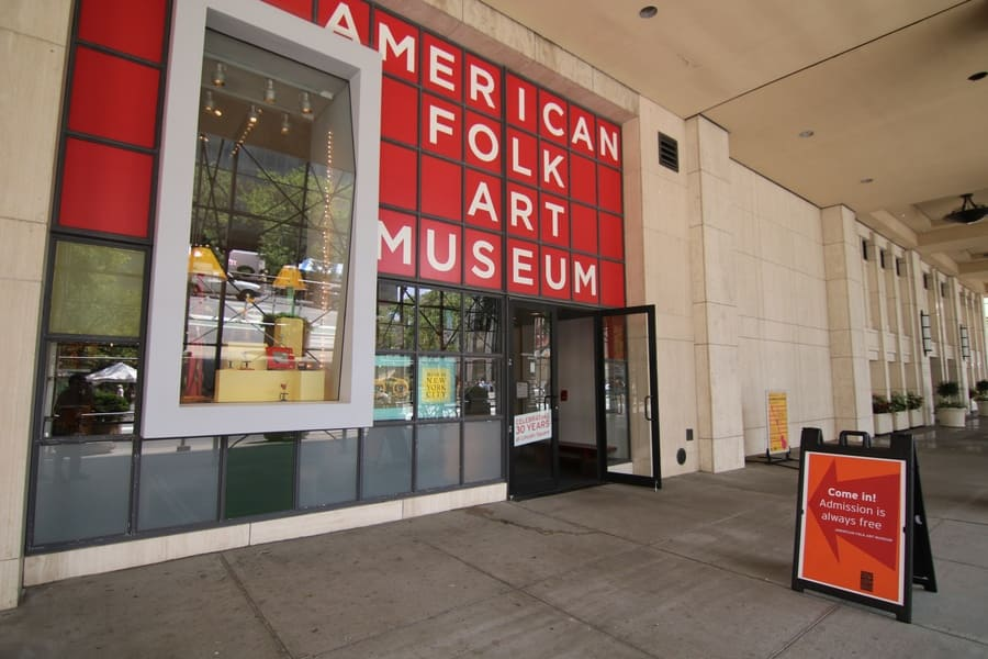 American Folk Art Museum at 2 Lincoln Square