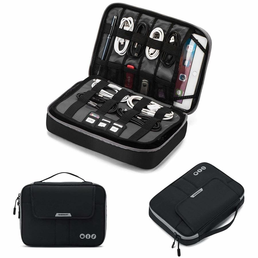 Universal Travel Cable Organizer Electronics Accessories Carry Bag