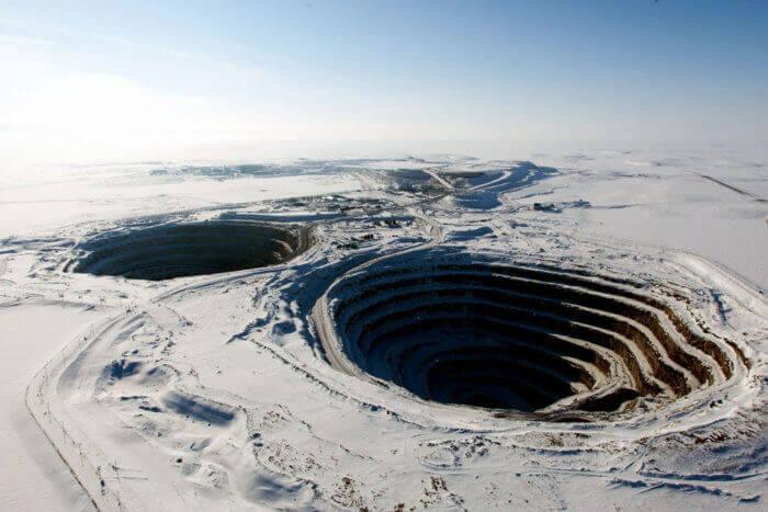 Diavik Diamond Mine - Canada