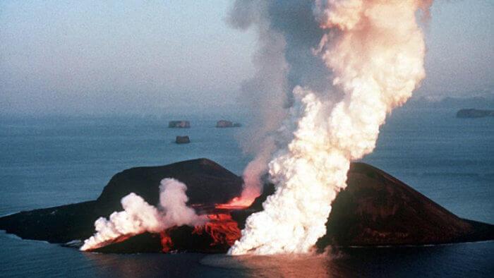 Surtsey Volcano - Iceland