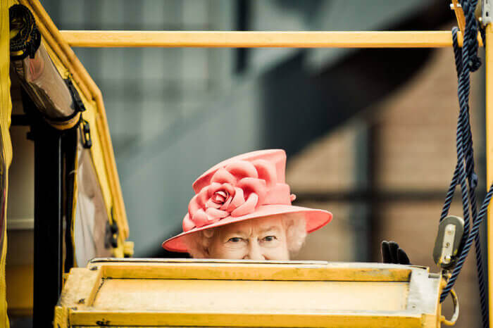 The Queen's bedroom - Buckingham Palace