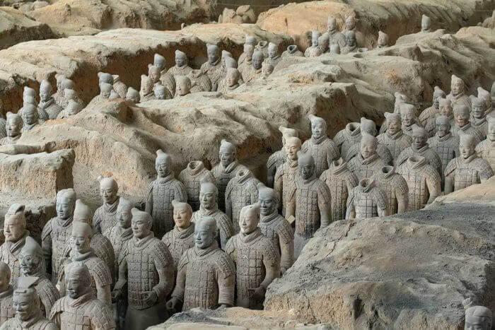 Qin Shi Huang's Mausoleum