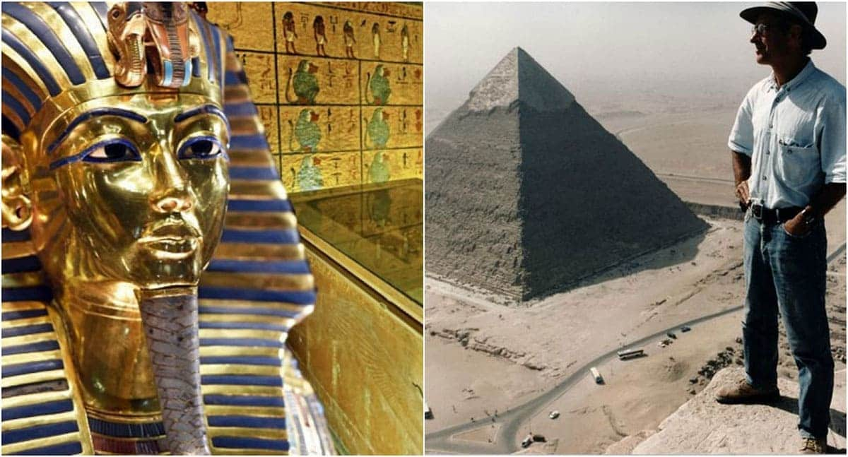 Egyptian Pyramids and Graves findings
