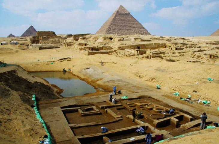 Pyramids archeological site