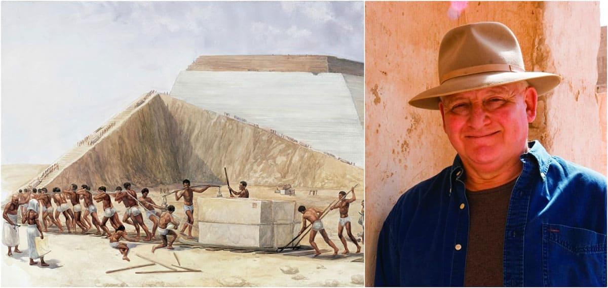 slaves paint and John Romer (Egyptologist)