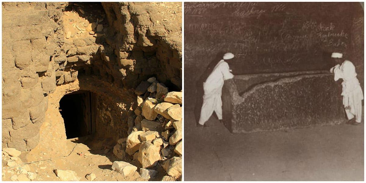 Egyptian graves