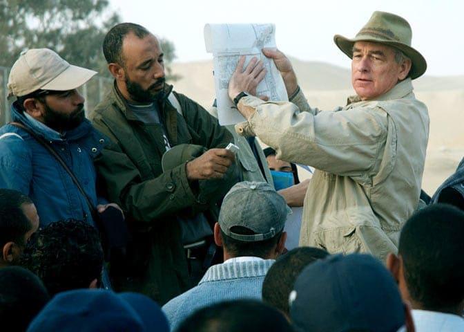 egyptologist Mark Lehner