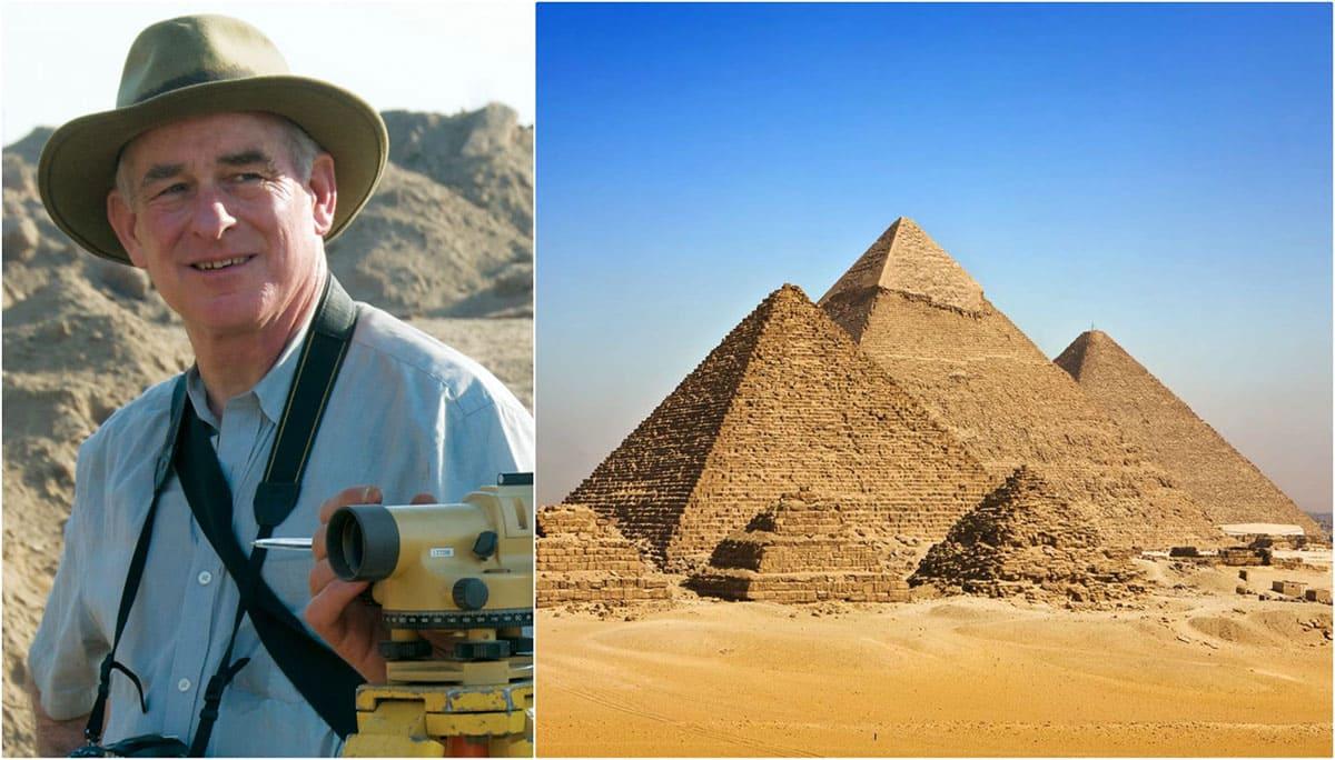 The Pyramids of Giza and Egyptologist Mark Lehner