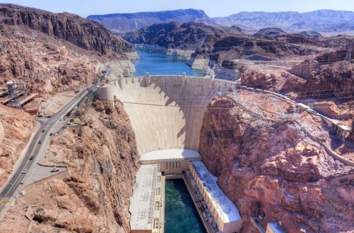 Hoover Dam in the United States