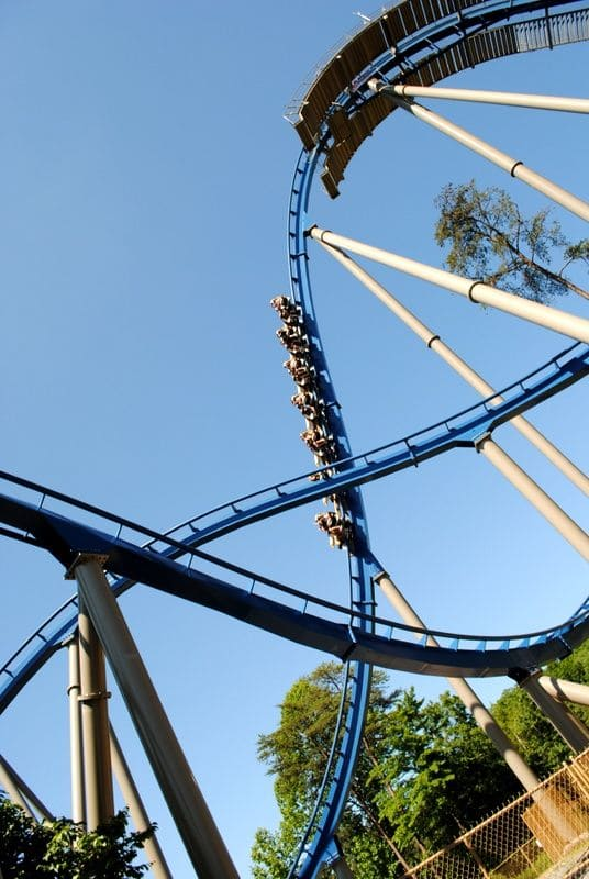 Huge roller-coaster