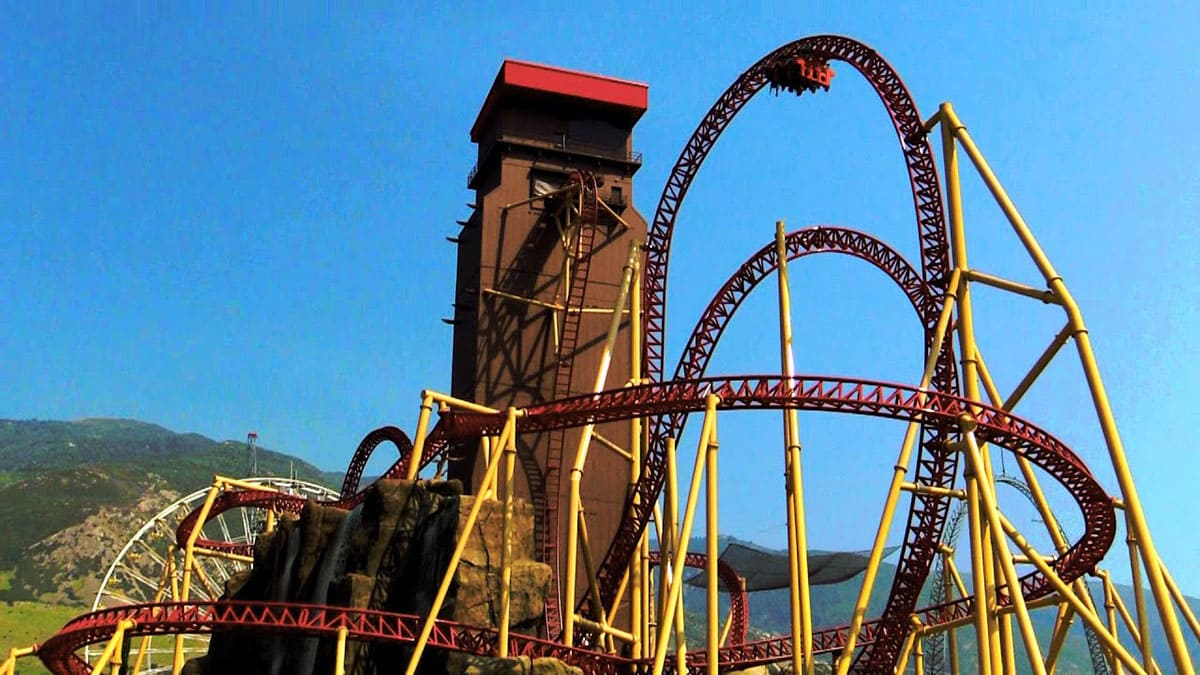 Cannibal roller-coaster