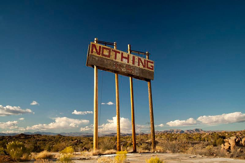 There is nothing in Arizona sign