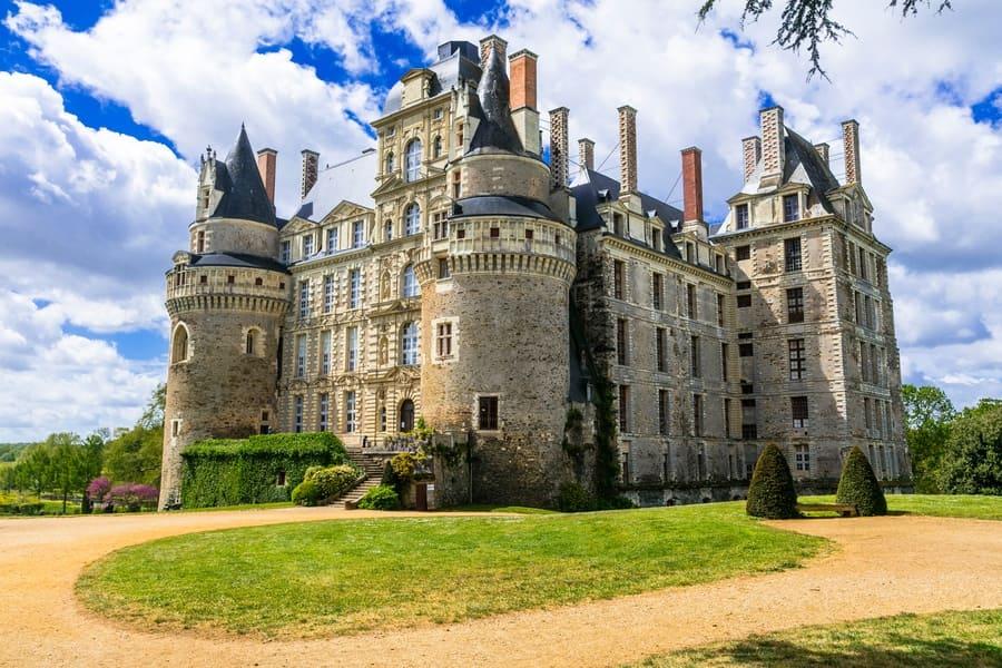 mysterious castles of France - Chateau de Brissac, Loire valley