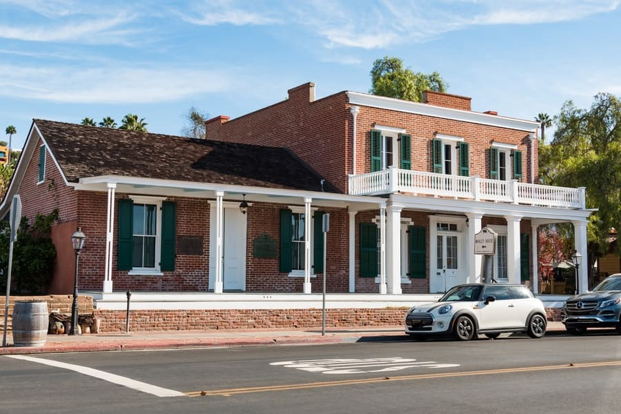 The Whaley House, built-in 1857 in historic Old Town.