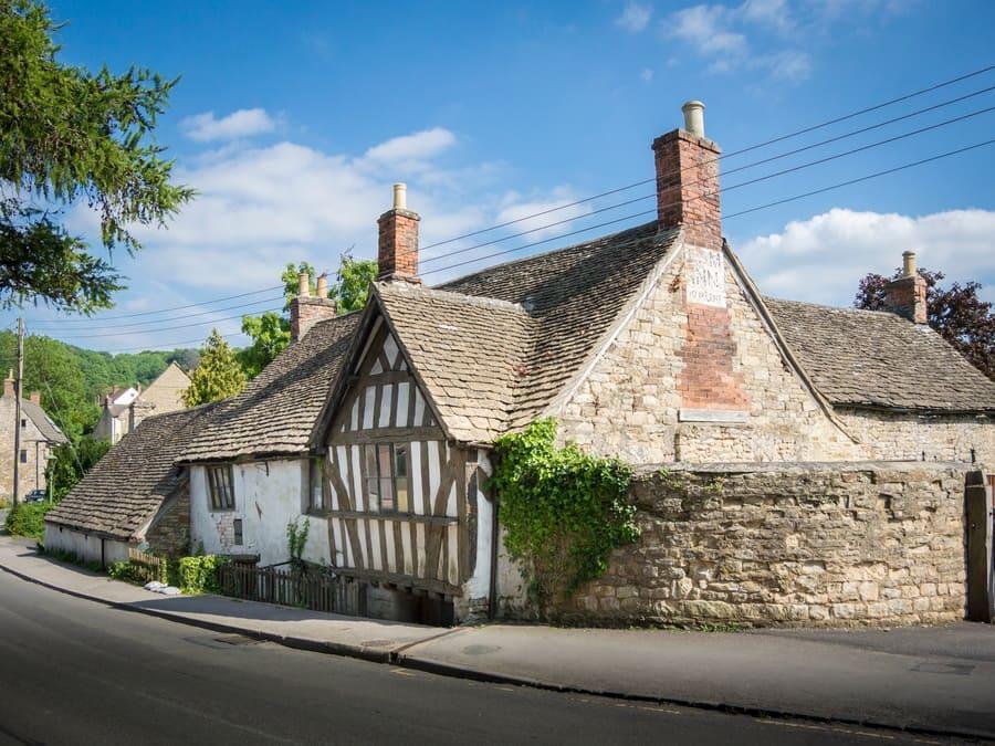 Ancient Ram Inn, Wotton-under-Edge, Gloucestershire, UK, June 3rd, 2016