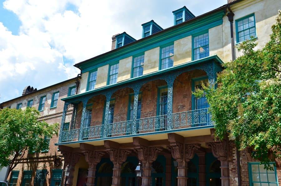 Old Dock Street Theatre in Charleston South Carolina