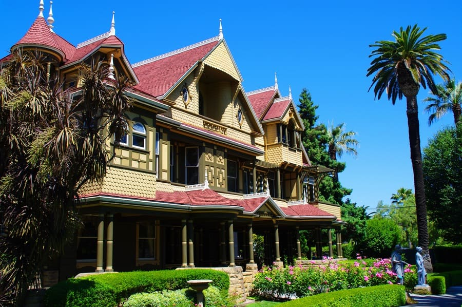 The Winchester Mystery House is a mansion in San Jose, California, which was once the personal residence of Sarah Winchester, the widow of gun magnate William Wirt Winchester.