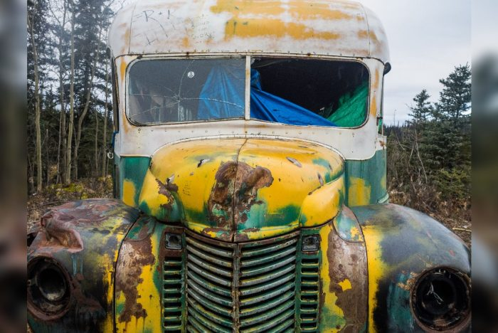 Chris McCandless' Magic Bus on the Stampede Trail.
