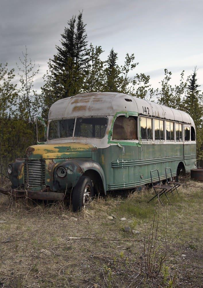 McCandless's Bus, Alaska