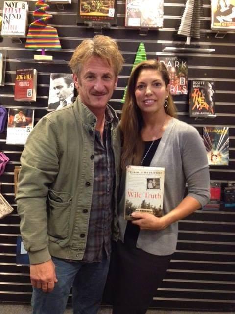 Carine McCandless and Sean Penn