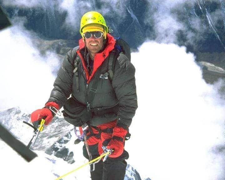 Daniel Lee Mazur on Mount Everest
