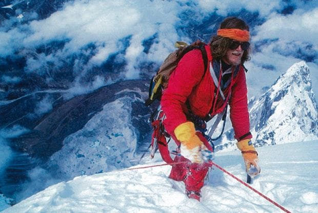 Lincoln Hall climbing Mount Everest