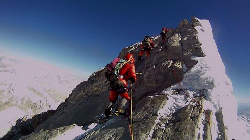 death zone near Mount Everest Peak