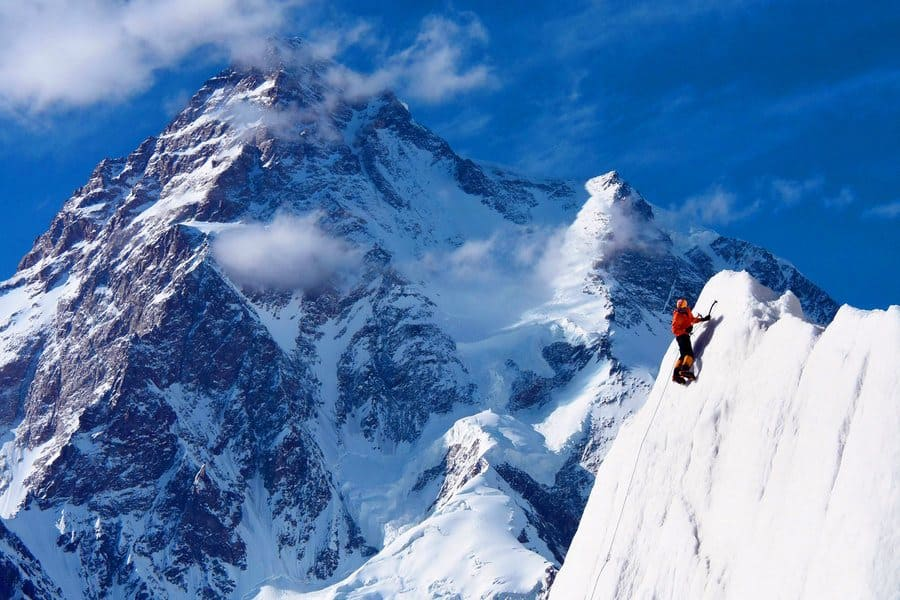 World's 2nd highest and a very tough challenge with DAN MAZUR