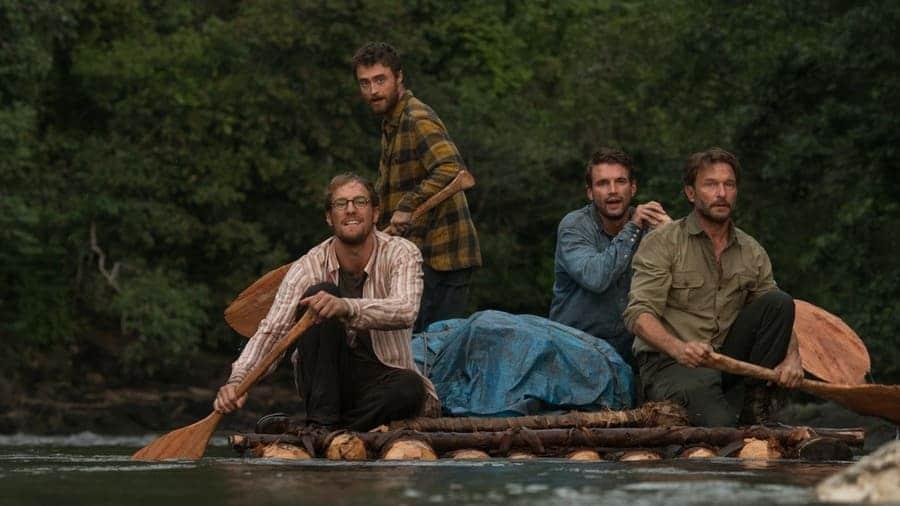 Daniel Radcliffe (Yossi), Alex Russell (Kevin), Joel Jackson (Marcus), Thomas Kretschmann (Karl)
