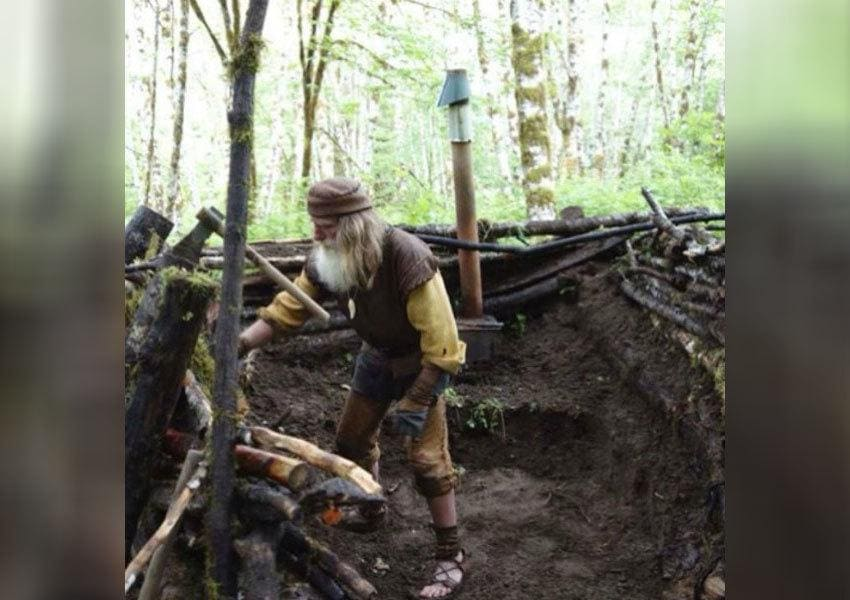 Mick Dodge is working in the dirt