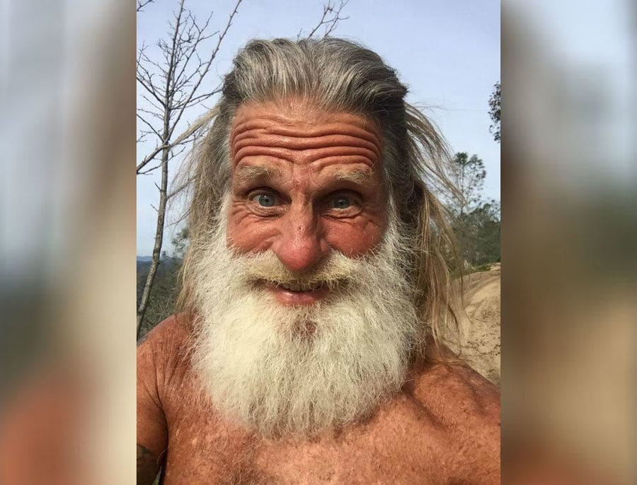 Mick Dodge out in the wilderness
