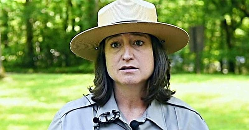 A park ranger
