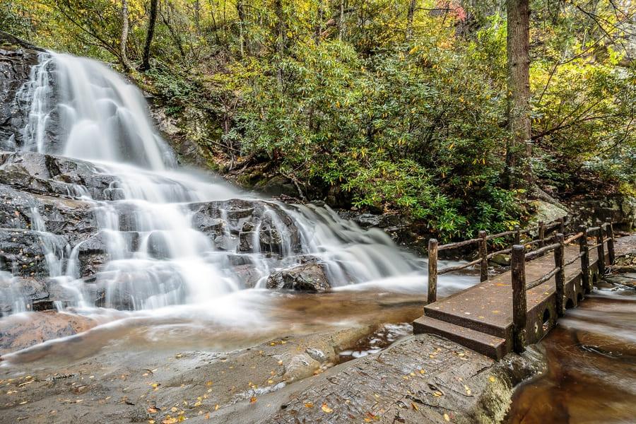 Great Smoky Mountains National Park - Laurel Falls
