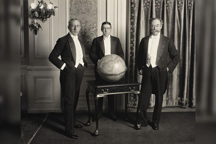 Roald Amundsen, Ernest Henry Shackleton, and Robert Edwin Peary.