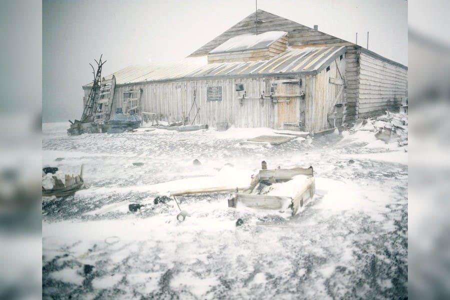 Sir Ernest Shackleton's Base Camp