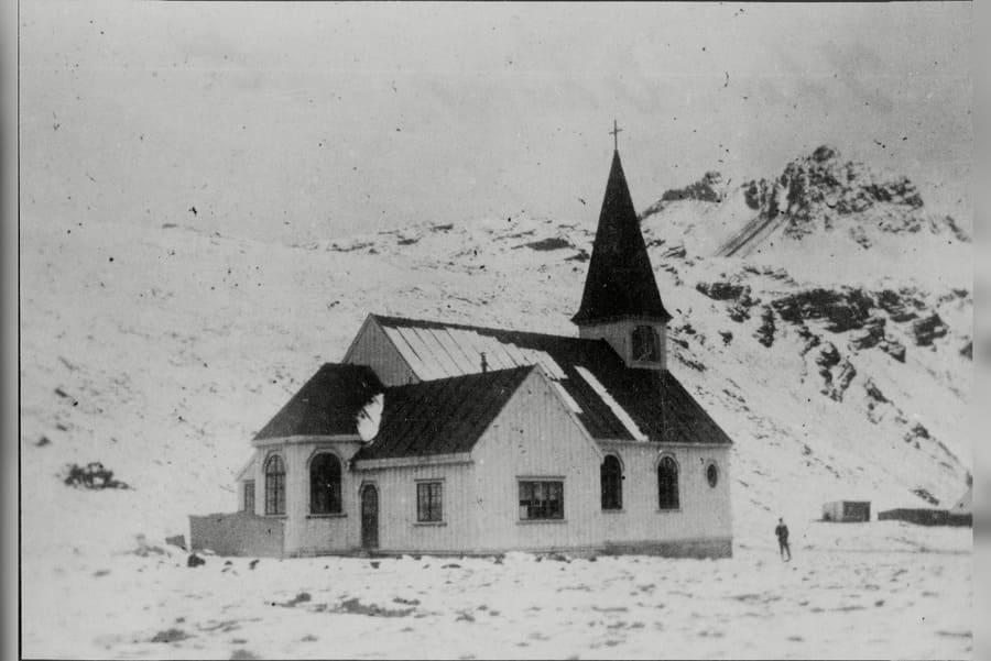 English Church At Grytviken South Georgia