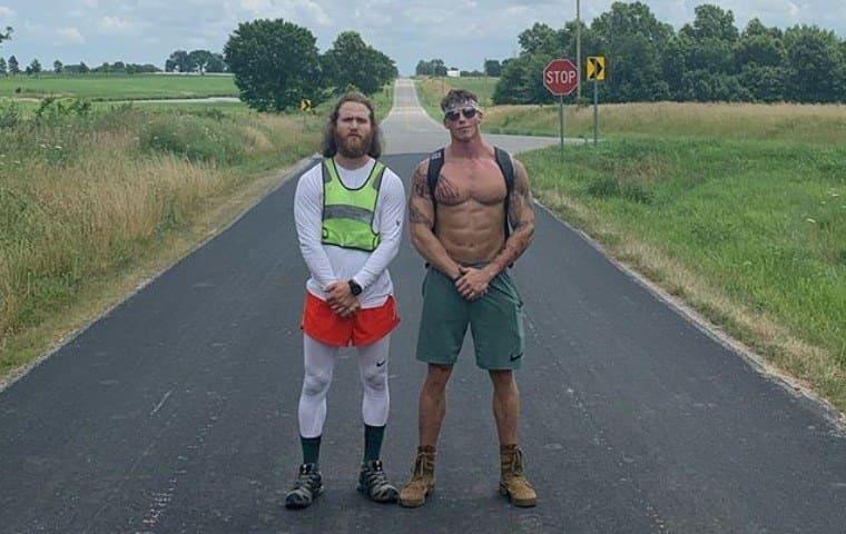 The Walk Across America. Day 81, Missouri Us, 1181/2819 Miles Walked.