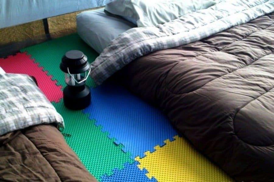 Children's foam puzzle pieces for the floors