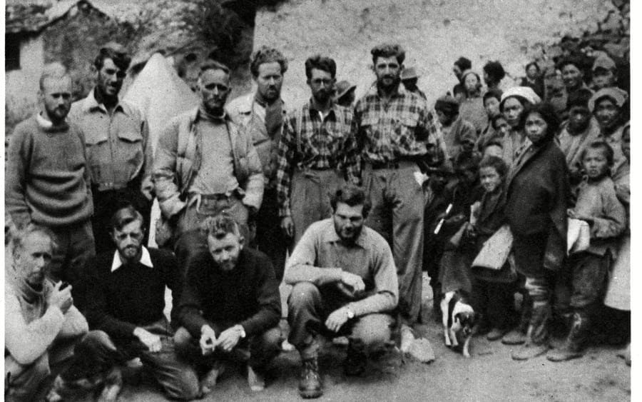 Members of the Cho Oyu Expedition Nepal