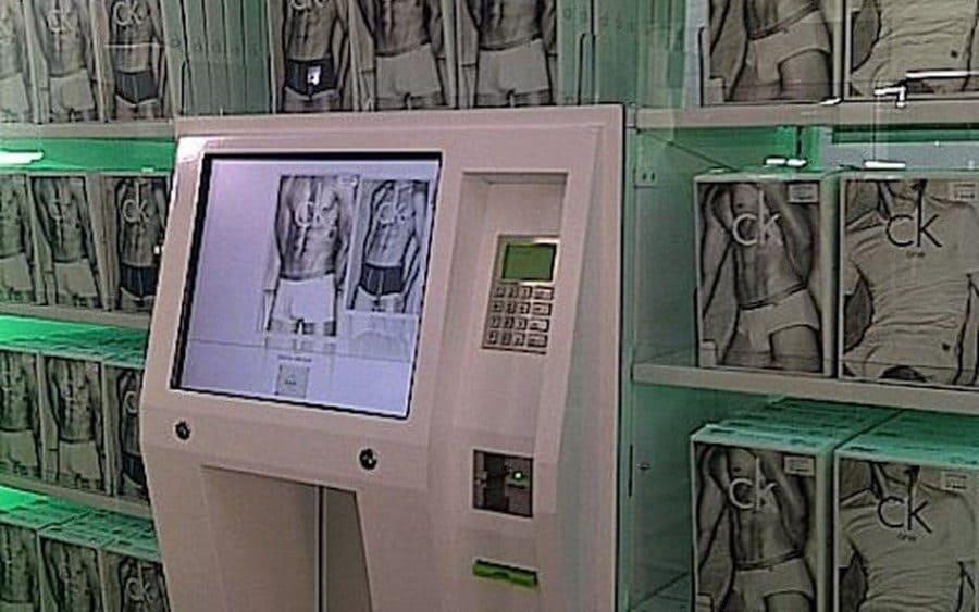 Calvin Klein vending machine