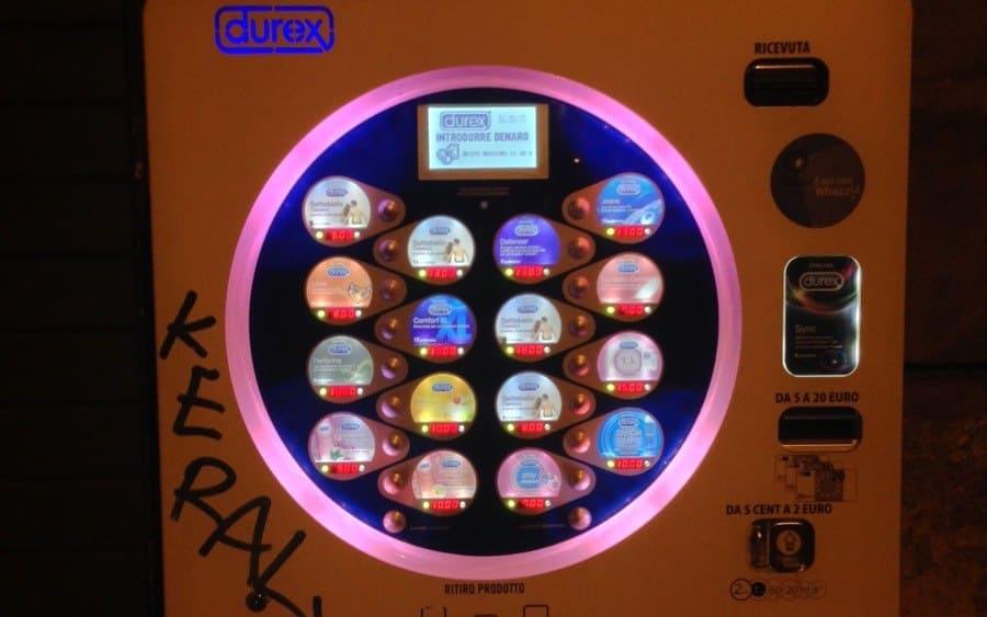 Plan B Contraceptive Vending Machine
