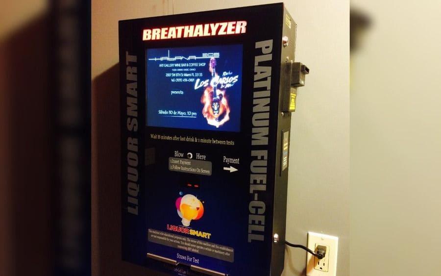 Breathalyzer Vending Machine