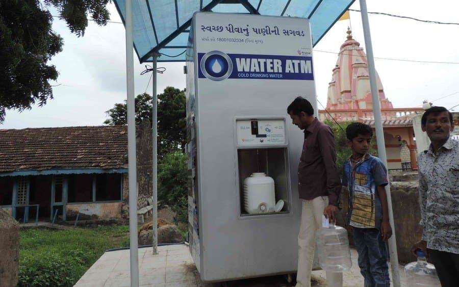 Clean Water ATM Vending Machine