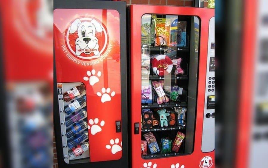 Hey Buddy Vending Machine