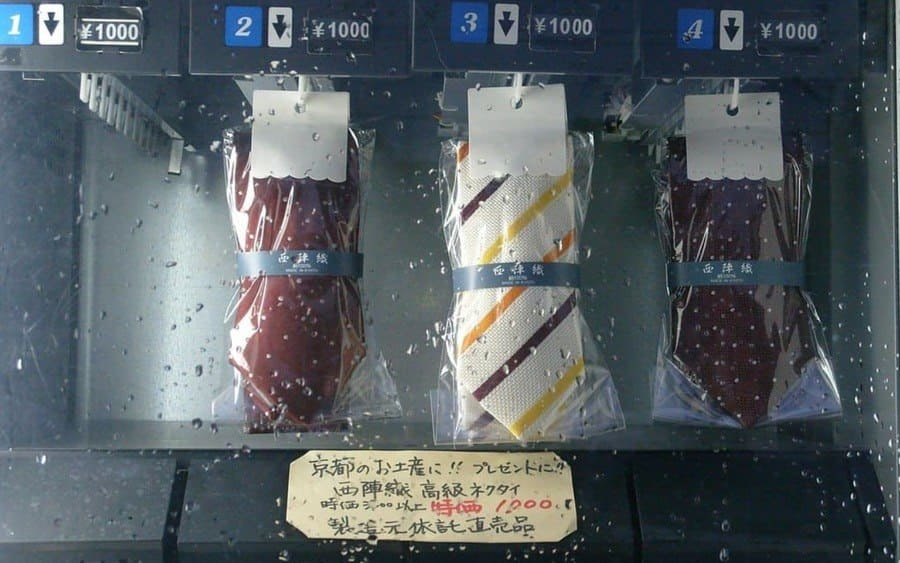 Tie Vending Machines