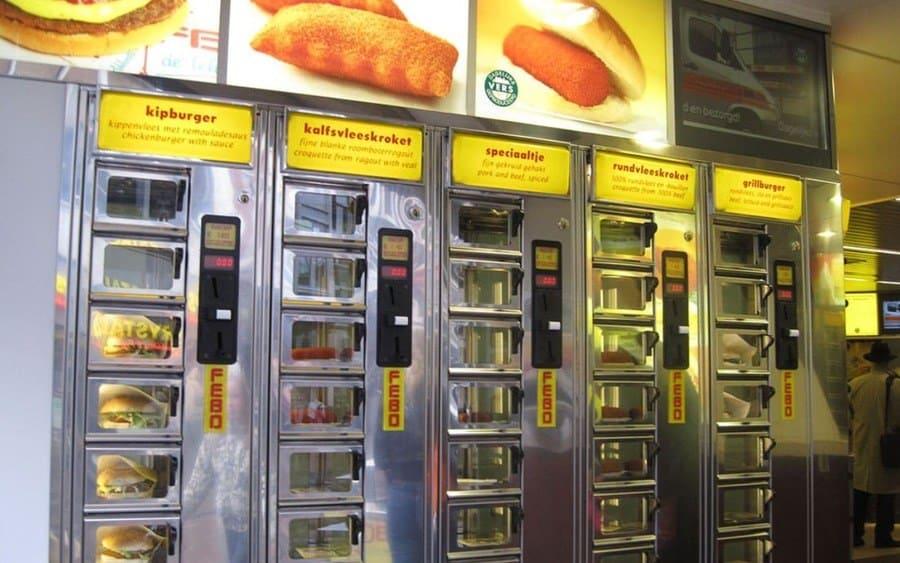 burgers machine